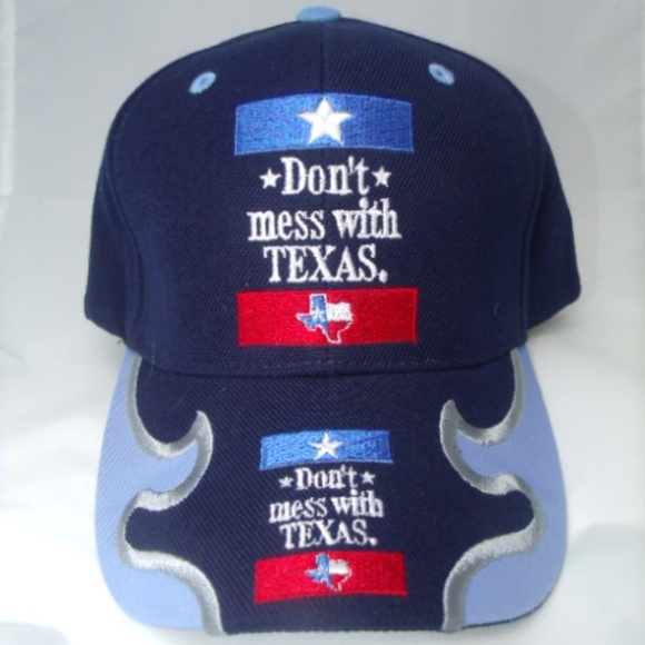 Texas Other - Pride Don't Mess With Texas State Blue Cap Adjus